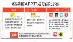 烟台短视频APP开发行业分类